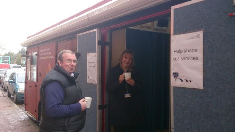 Louth NHS Mobile Clinic Health Bus
