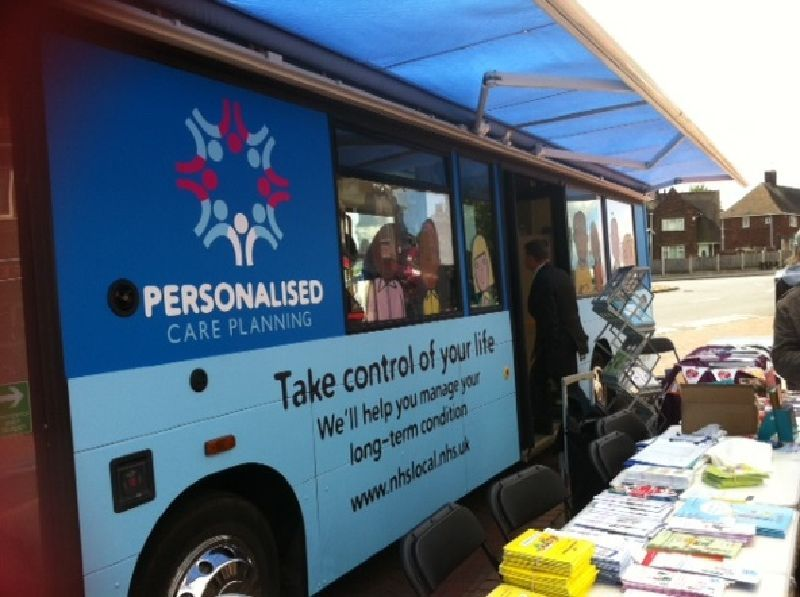 NHS Midlands and East Mobile Clinic