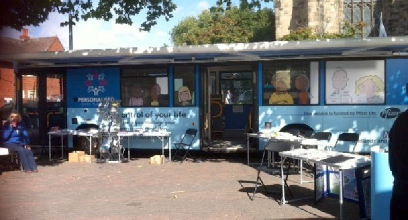 NHS Midlands and East Personalised Care Plans Mobile Clinic