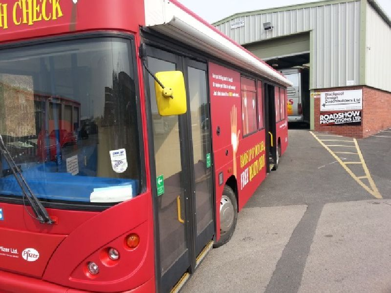 North Tyneside NHS Health Bus Tour Case Study