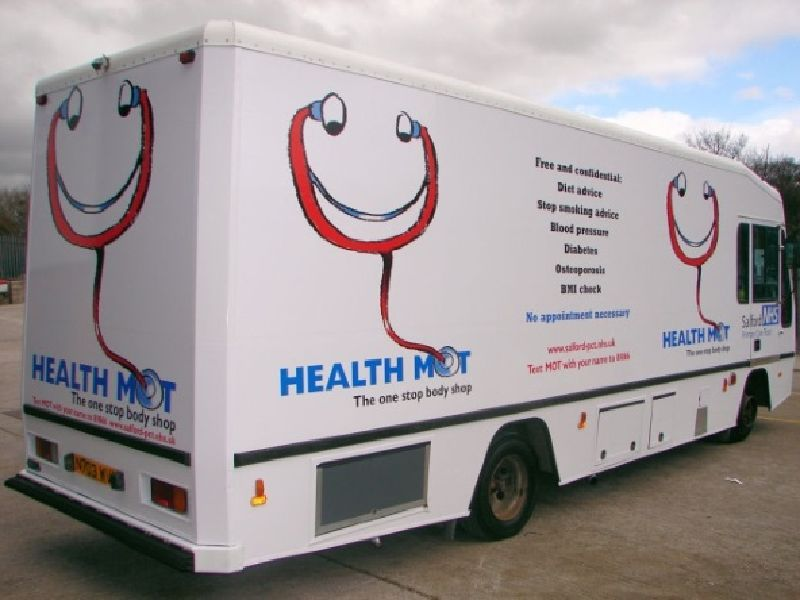 Health Vehicle for Salford NHS