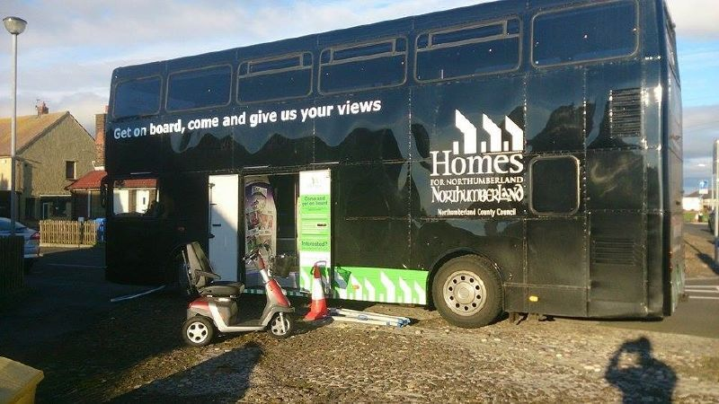 Northumberland Homes Hospitality Bus