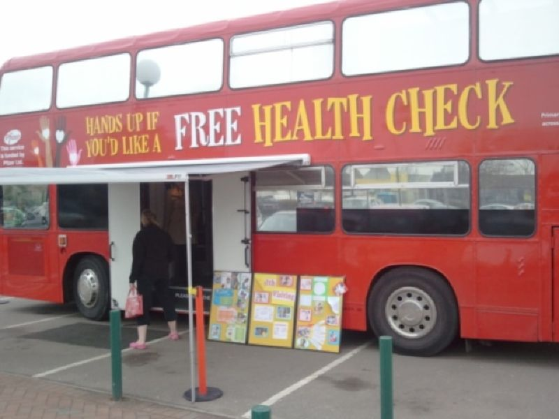 Pfizer Health Bus on Tour