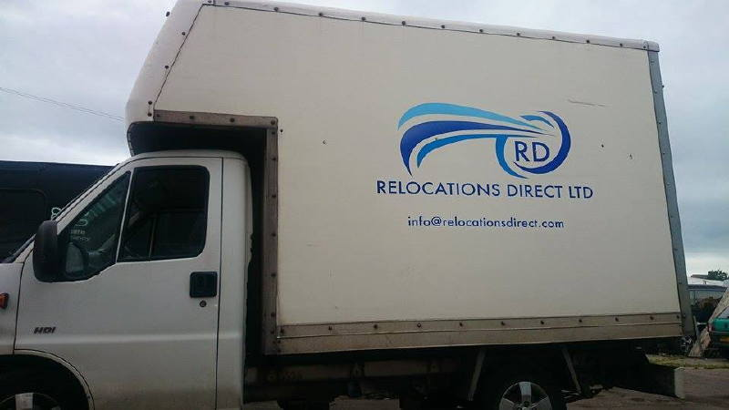 Relocation Direct Van Signage