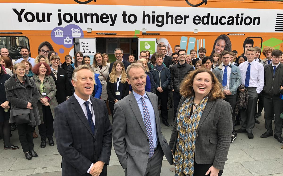 Heppsy Mobile Classroom Bus Launch Sheffield