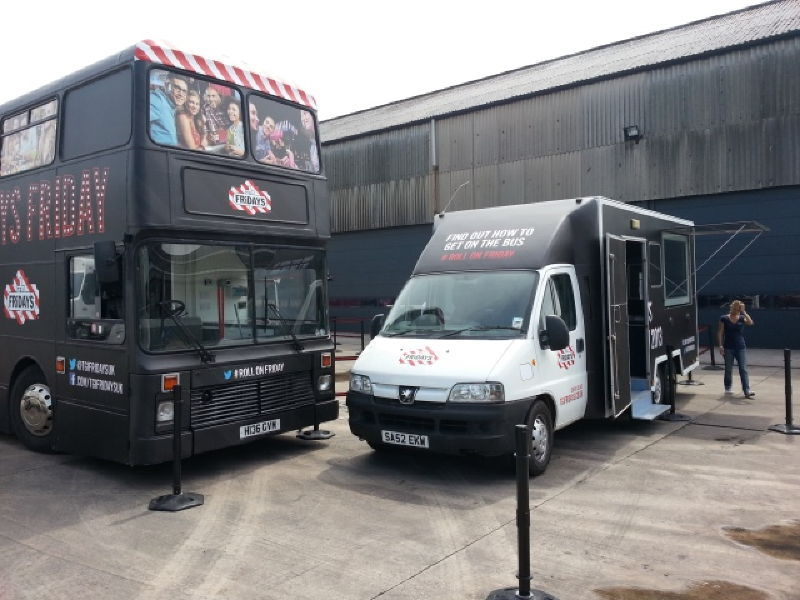 TGI Fridays Hospitality Bus Tour