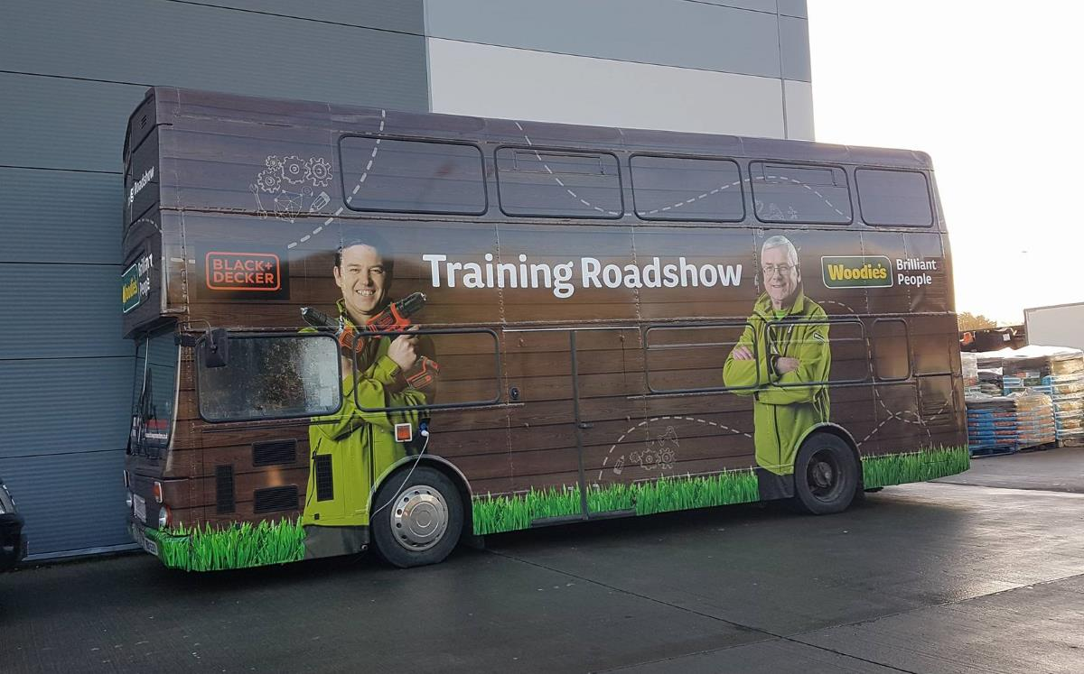 Woodies Black and Decker Training Bus Tour