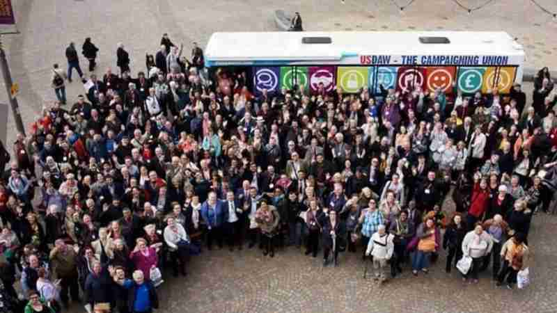 USDAW Promotional Bus UK Promotional Vehicle Tour Case Study