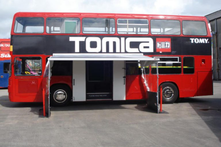 RSP01 Tomica Branded Double Decker Bus
