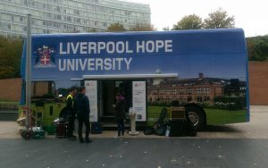 RSP03 Liverpool Hope Promotional Bus