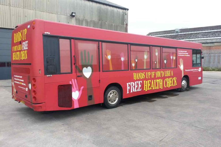RSP05 Branded as Pfizer Health Bus