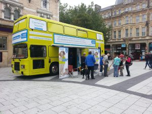 Guide Dog Promotional Bus