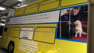 Guide Dogs Campaign Bus