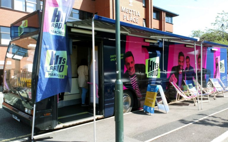 Hits Radio Contract Hire Bus