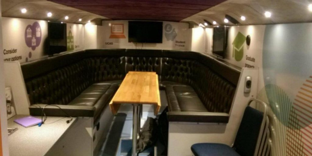 RSP04 Event Vehicle Lower Saloon Rear Seating