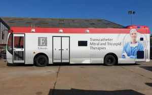 RSP15 Health Training Bus Exterior
