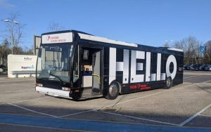 Heathrow Airport Staff Engagement Tour Bus