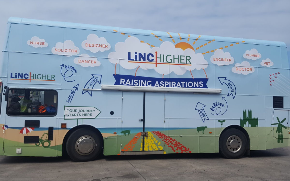 RSP03 Linchigher Roadshow Bus Branded