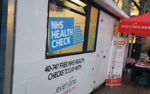 everyone health NHS Health Check Bus